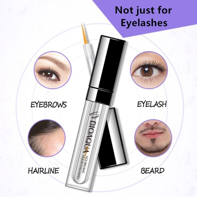 Eyelash Growth Treatments Makeup Eyelash Enhancer 7 Days Longer Thicker Eyelashes Eyes Care Eyelash Enhancer 3