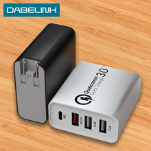 PD 48W Charge Quick Charge QC 3.0 4 USB Type C Charger for xiaomi 10 9 Apple Mac Phone 11 Pro Airpower power delivery Charger