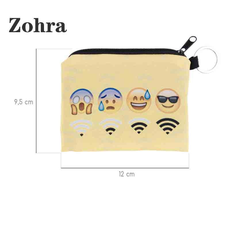 Zohra 2019 New Style Yellow Base Infinite Signal Expression Square Purse AliExpress Best Seller-