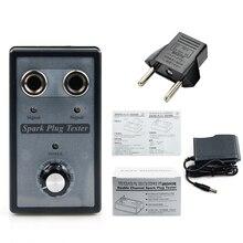 ใหม่Dual Hole Spark Plug Tester Ignition Plugเครื่องวิเคราะห์เครื่องมือวินิจฉัยรถSpark Plug Testerเครื่องตรวจจับ 2 Sparkปลั๊ก