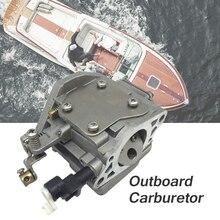 Лодка морской двигатель углеводов карбюратор для Yamaha 9,9/15Hp 2-тактовый подвесной двигатель 63V143011000 лодка аксессуары морской катер