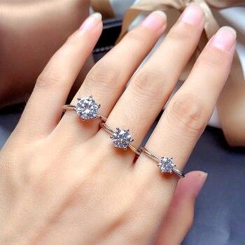 Women Sterling Silver Ring Jewelry Diamond Jewelry