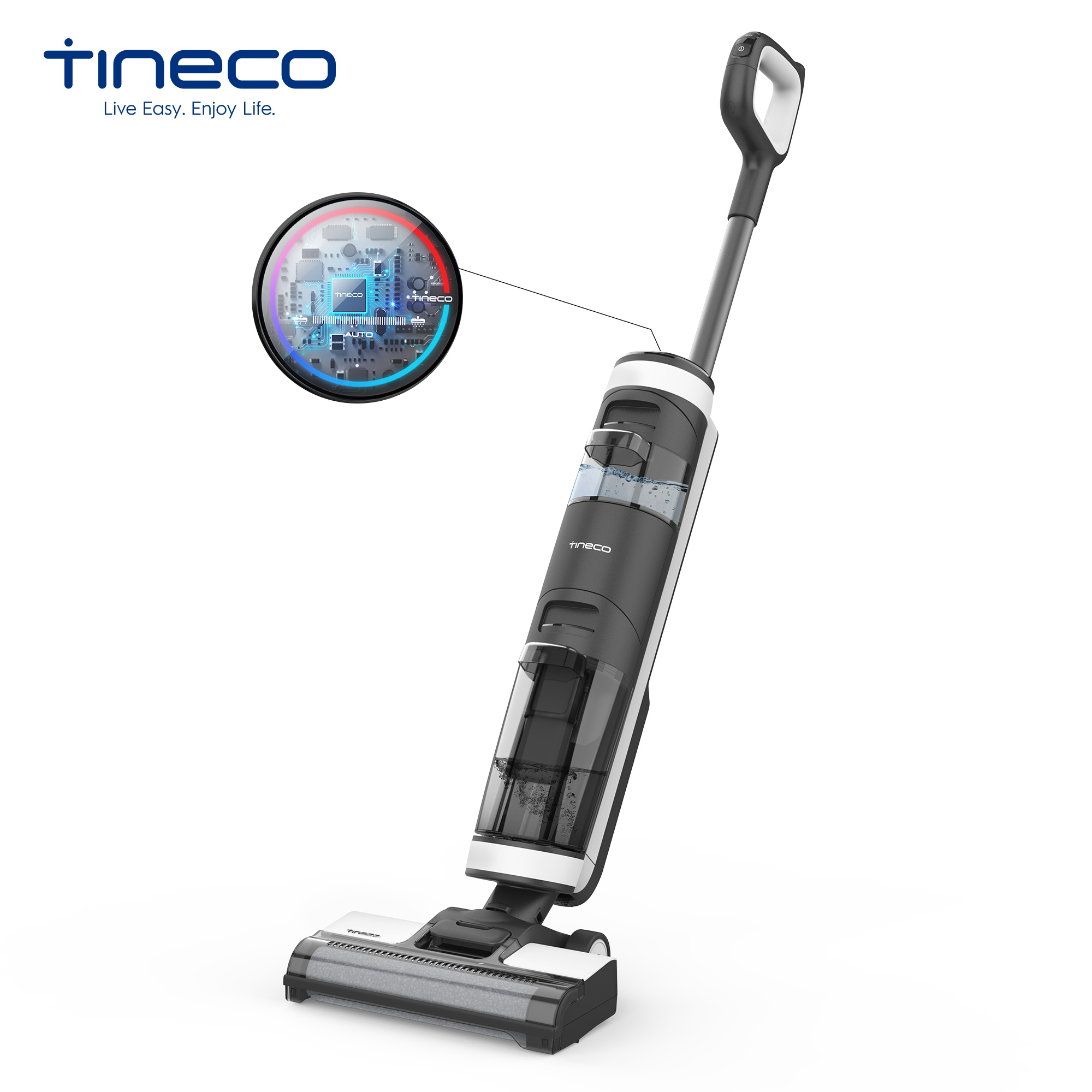 Tineco Floor One S3 Cordless Wireless Wet Dry Smart Vacuum Cleaner For Home Multi Surface Cleaning Handheld Household APP LED
