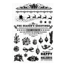 Merry Christmas Greeting Clear Stamps Transparent Silicone Seal for DIY Scrapbooking Card Making Photo Album Crafts Decor Stamps merry christmas trees sticker painting stencils for diy scrapbooking stamps home decor paper card template decoration album