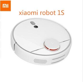 Original Xiaomi mi Robot aspiradora 1S para el hogar carga automática de barrido inteligente planificada WIFI APP Control remoto polvo limpiador