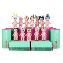 12ピース/ロット新ソニー天使2スタイルキューピー人形pvcミニフィギュアかわいい置物ソニーエンジェルのおもちゃとボックス