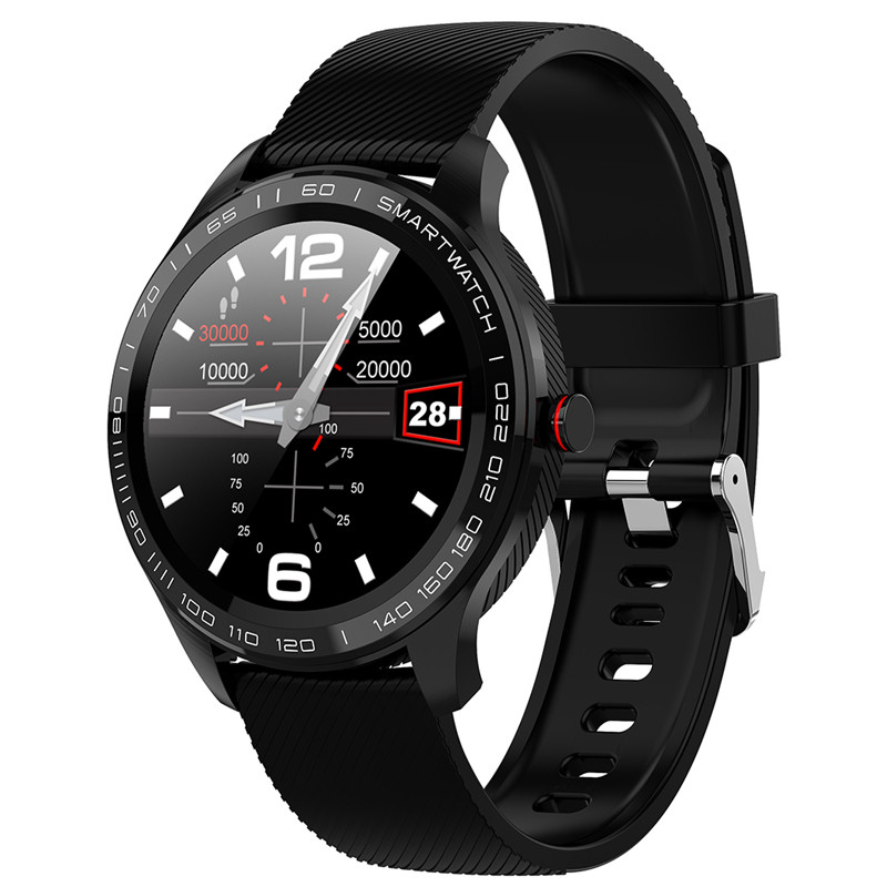 2020 new L9 Smart Watch ECG Heart Rate Calls Reminder Full Touch <font><b>Smartwatch</b></font> IP68 Waterproof Watch Men For Android IOS PK <font><b>L7</b></font> GT2 image