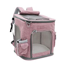 1pcs Cat Carrier Bag Outdoor Dog Foldable Pet Kennel Puppy Travel Shoulder School for Small