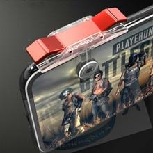 10 Pcs Universal Pubg Mobile Phone Cooler Controller Gamepad Joystick Trigger Fire Button Aim L1R1 Shooter Game Pad Phone Holder