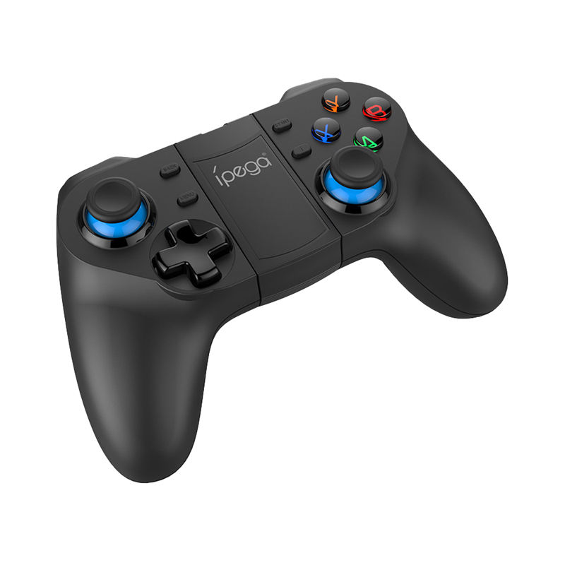 Ipega Pg-9129 Smart Bluetooth Game Controller Gamepad Wireless Joystick Console Game With Telescopic Holder For Smart Tv/ Phone/