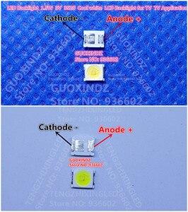 Image 1 - LED firmy OSRAM podświetlenie dioda LED dużej mocy 1.5W 3V 1210 3528 2835 131LM zimny biały podświetlenie LCD do telewizora do TV
