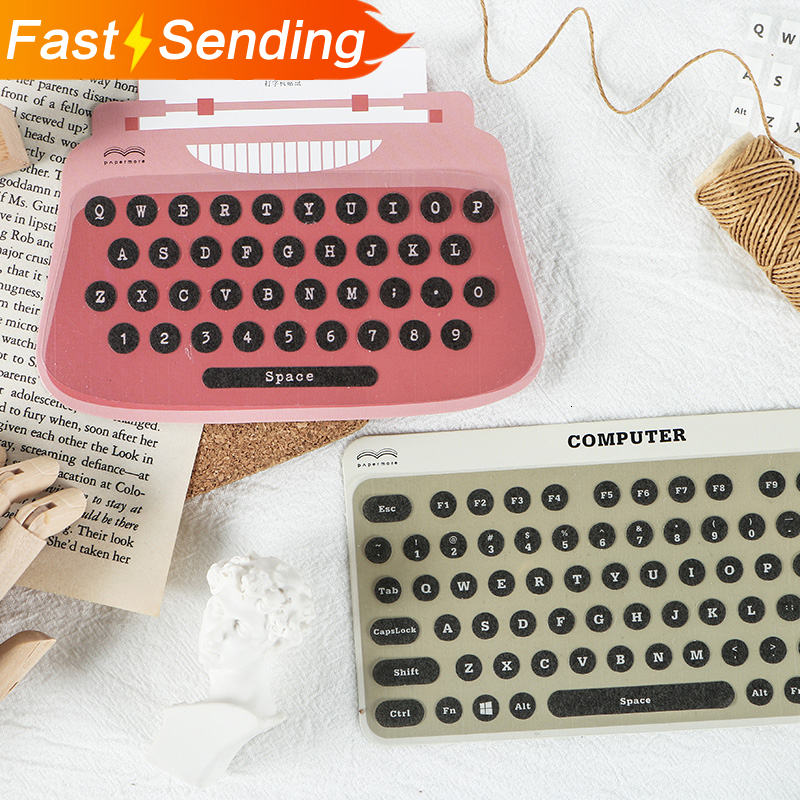 JIANWU Digital Modelling Stickers Diary Planner Decorative Typewriter Stickers Scrapbooking DIY Bullet Journal Sticker Kawaii