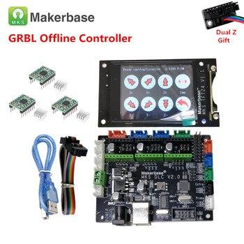 cnc 3018 pro OFFLINE control CNC breakout board CNC laser display 3 axis stepper driver card