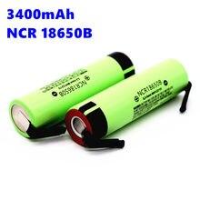 100% оригинальный новый NCR 18650B 18650 литий-ионный перезаряжаемый аккумулятор 3400 мАч 3,7 В для внутренней или + nquel pieza