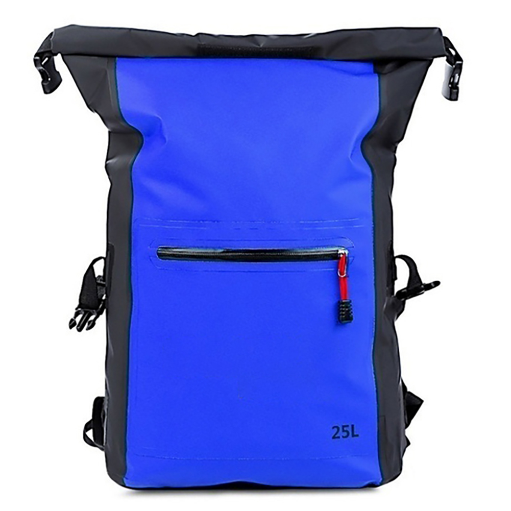 25L Outdoor Waterproof Swimming Bag Backpack Bucket Dry Sack Storage Bag Rafting Sports Kayaking Canoeing Travel Bag New O30