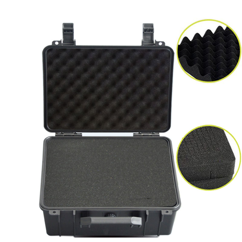 280x240x130mm Toolbox Safety Protector Box Portable Organizer Hardware Storage Tool Case Impact Resistant Instrument Case