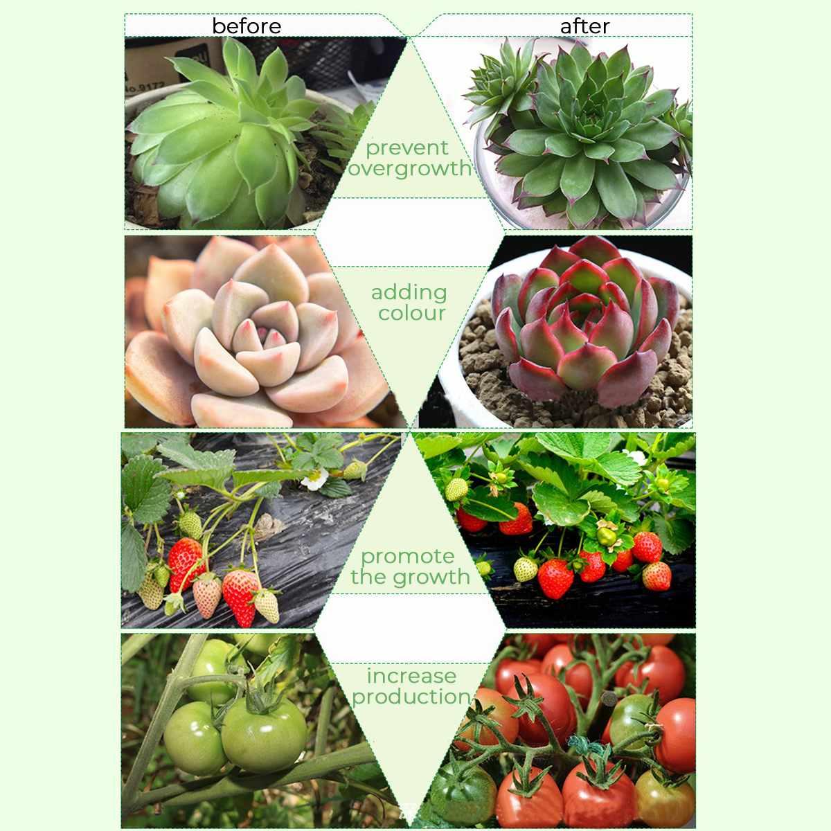США/ЕС 20 Вт светодиодный цветочный горшок полка для растений полный спектр высокая эффективность для выращивания системы освещения с растительными огнями комнатный цветочный стеллаж