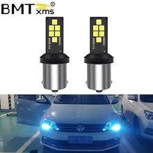 BMTxms bombilla Led tipo CANbus para Volkswagen VW Jetta MK6 2011-2017 diurna luz de conducción DRL lámpara de repuesto bombillas