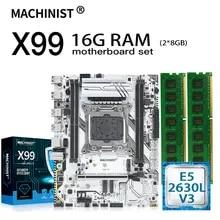 X99 X99-K9 DDR4 Intel Xeon E5 2630l M-ATX with CPU V3 16GB 2--8gb/Ddr4 ECC REG REG
