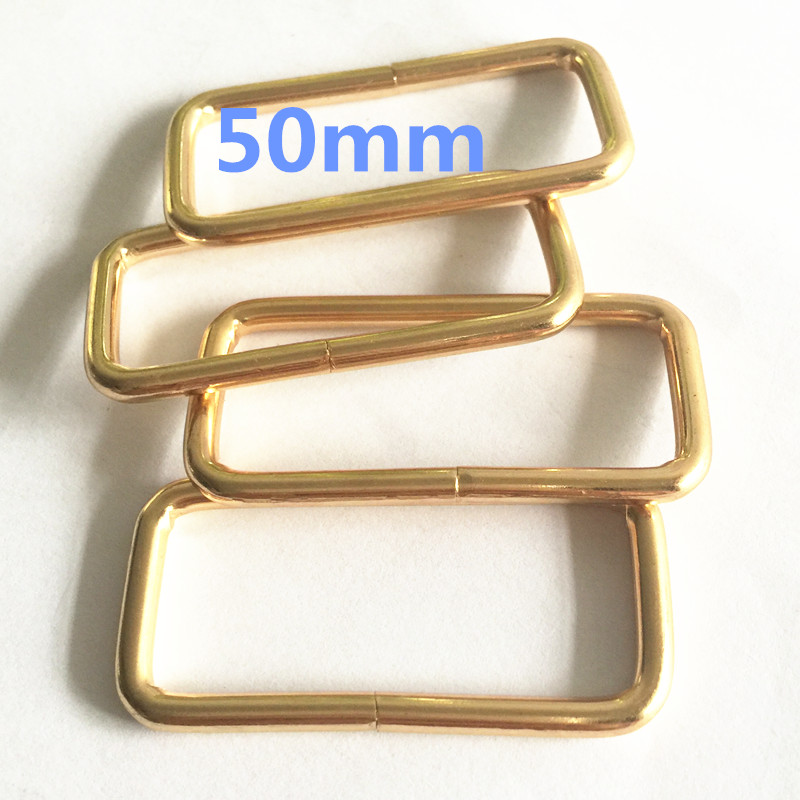"Rectangle Metal Square Ring webbing Belt ribbon buckle 18mm 1/"" 25mm 2/"" 50mm 1.5/"""