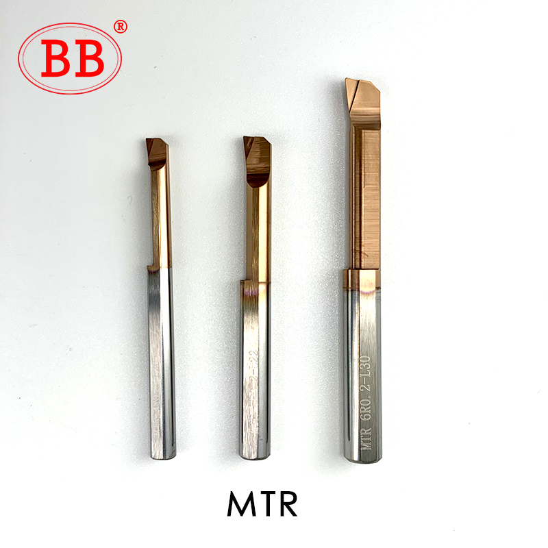BB Carbide Lathe Boring Cutter Coated Mini Internal Turing Tool Copying Small Hole MTR MQR MUR 2mm 3mm 4mm 5mm 6mm