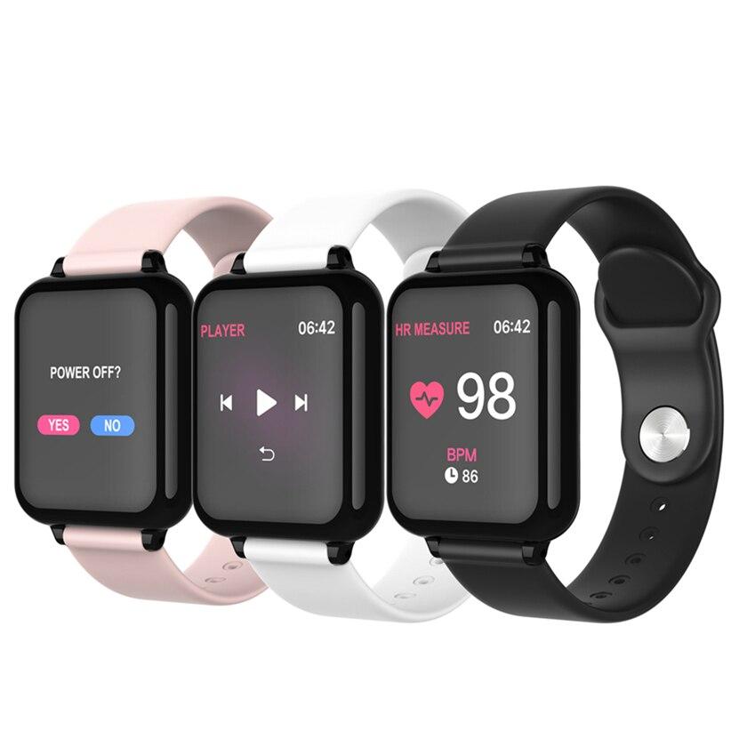 Смарт-часы 2019, Смарт-часы B57 Amazfit Gtr Amazfit Bip Elogio Celular Amazfit Health Watch Montre соединительный элемент Colmi I Watch