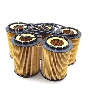 Engine Oil Filter For VW Touareg Golf Passat Porsche Cayenne Audi Q7 A8 95510756100,021115562A,077115562G,A0001801509,25313731 air suspension compressor pump valve angle elbow connection for vw volkswagen q7 touareg 2004 2010 for porsche cayenne 2002 2010