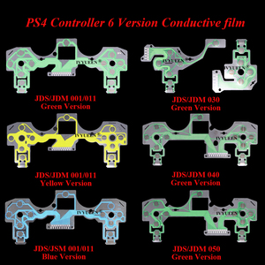 IVYUEEN Replacement Buttons Ribbon Circuit Board for PS4 Dualshock 4 Pro Slim Controller Conductive Film Keypad flex Cable PCB