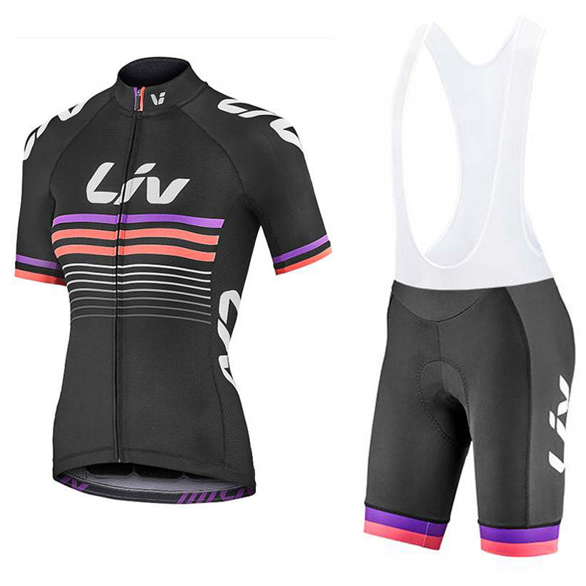 Women 2020 TEAM PRO Cycling Clothing jersey Shorts 20D pads set Ropa Ciclismo Quick Dry Bicycle summer Cycling Jerseys <font><b>bike</b></font> <font><b>wear</b></font> image