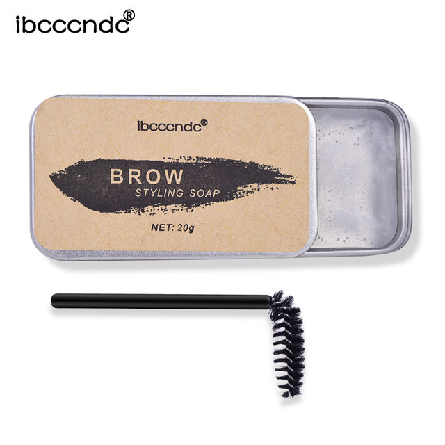 3D Feathery Brow Styling Soap Lamination Setting Gel Waterproof Long Lasting Brows Tint Eyebrow Gel Pomade Kit Makeup Cosmetic 3