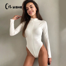 Rompers Women Bodysuit Overalls Outfits Long-Sleeve Streetwear Fitness Fashion Casual