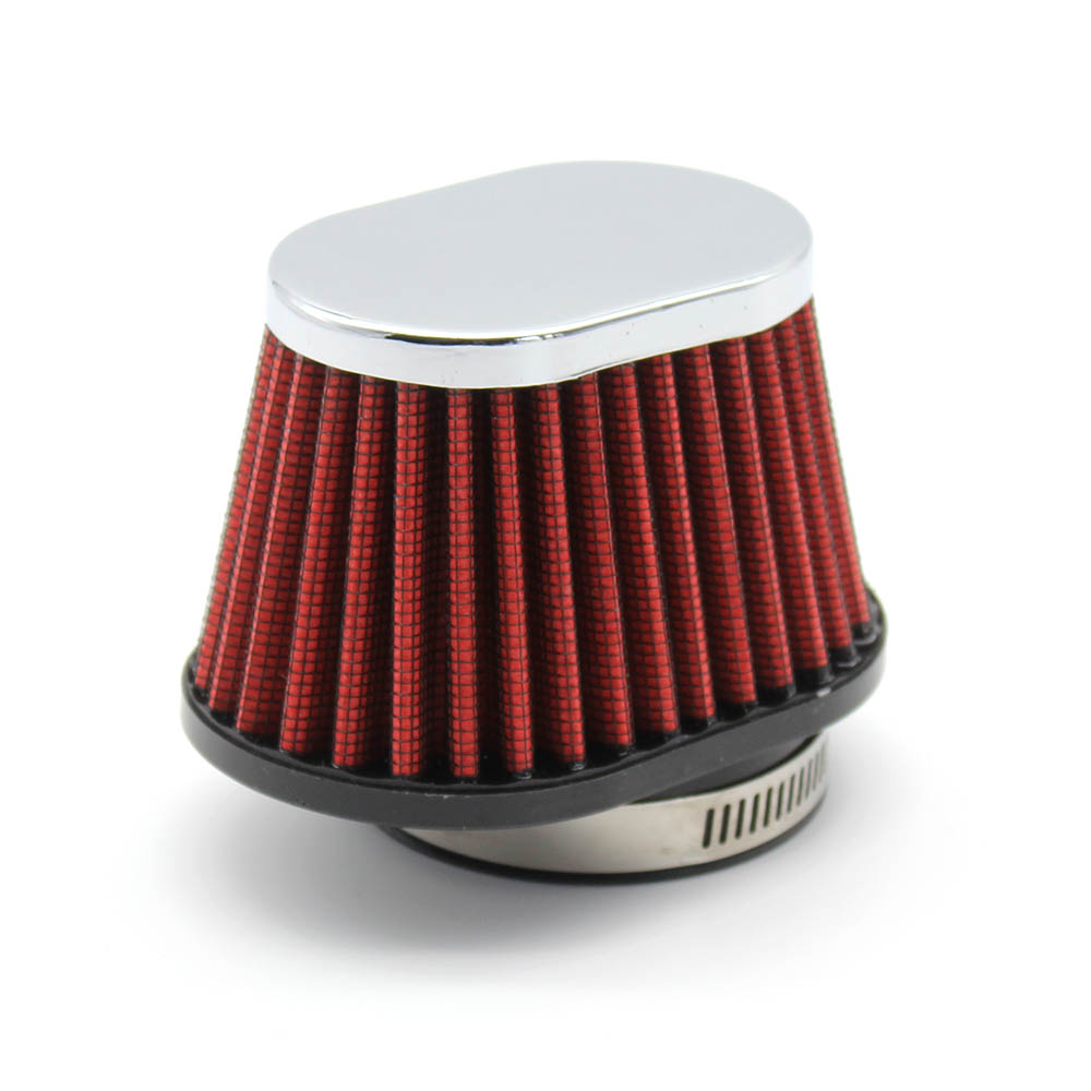 R-EP Motorcycle Air Filter 60mm 55mm 51mm Universal for Motor Car Minibike Cold Air Intake High Flow Cone Filter UN073 Pakistan