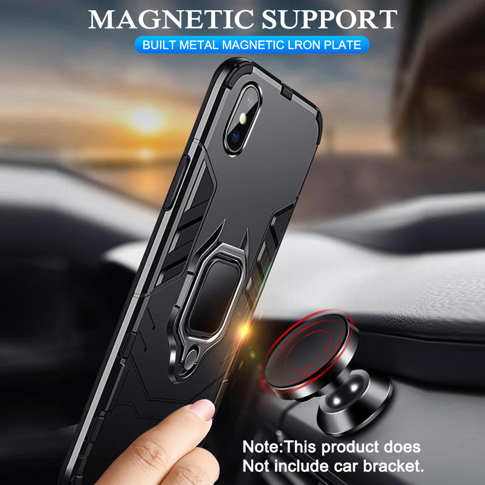 Armor Phone Standing Case With 360-Degree Intimate Guardianship For Huawei And Honor 2