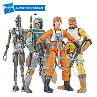 Hasbro Star Wars The Black Series Archive Luke Skywalker Figure StarWars Toys Luke Skywalker Boba Fett Ig88 BossK 6 Inches