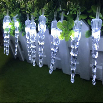 цена на Christmas Garland LED Curtain Icicle String Light 10m 100Leds Indoor Drop LED Party Garden Stage Outdoor Decorative Light