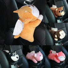 Napkin-Holder Tissue-Box Storage-Case Home-Seat-Decor Car Cartoon Cute Doll-Paper Animal