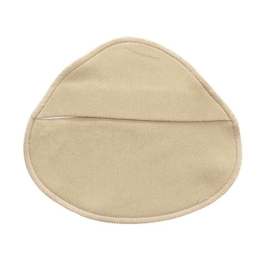 여성 실리콘 유방 폼 보호 커버 면화 유방 절제술 보형물 인공 삼각형 가짜 가슴에 대한 포켓 xl을 보호