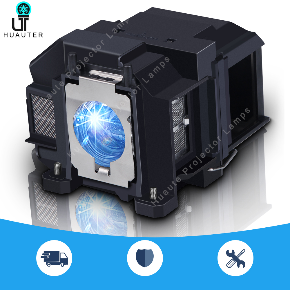 V13H010L67 Projector Lamp With Housing/Bare Bulb ELPLP67 For EPSON EB-S02/EB-S022/EB-S11/EB-S12/EB-SXW11/EB-SXW12/EB-W02/EB-W12