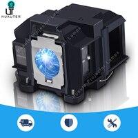 V13h010l67 lâmpada do projetor com habitação/bare bulbo elplp67 para epson EB S02/EB S022/EB S11/EB S12/EB SXW11/EB SXW12/EB W02/EB W12 Lâmpadas do projetor     -