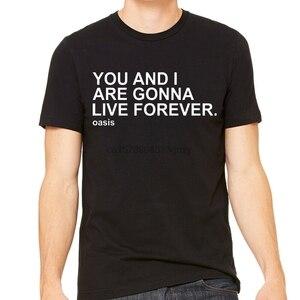 Oas s Live Forever Liam Noel Gallagher/футболка с лирической музыкой детская футболка унисекс