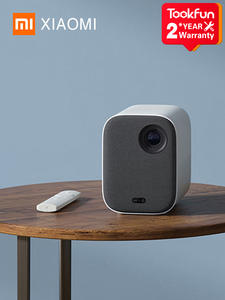 Original Xiaomi Smart Compact Projector For Home Mini 3D Video Playback 500 ANSI Lumens