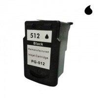 PG 512 cartucho reciclado canon preto (pg512) 15 ml|Cartuchos de toner| |  -