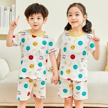 Sommer Kurzarm Tops + Shorts 2pc Kleidung Sets Baby Kleidung Anzug Jungen Mädchen Sommer Kleidung 2-11Years Mädchen Outfits kinder Tuch