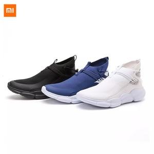 Image 5 - Xiaomi Uleemark קל משקל עף אריגת נעלי אופנה גברים מזדמן נוח לנשימה החלקה Xiomi סניקרס למאהב