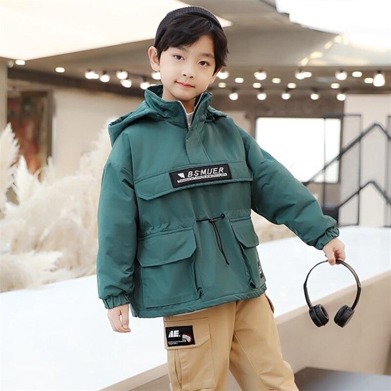 Купить пуловер для мальчиков хлопковое стеганое пальто осенняя новая