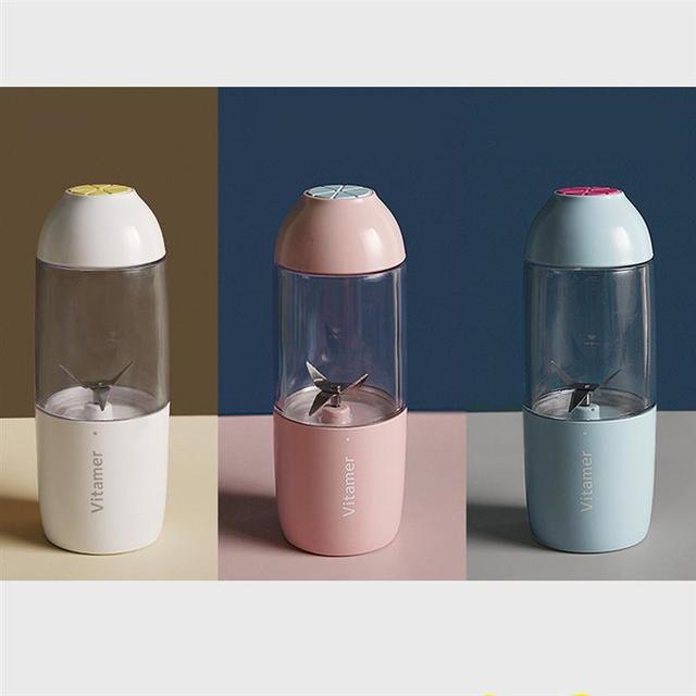 Portable Juicer Blender Rechargeable Electric Smoothie Juicer Bottle Fruit Blender Mixer Mini Cup Maker Fruit Mixing Machine 3