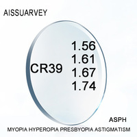 1.56 1.61 1.67 1.74 Index Aspherical Clear Optical Prescription Lenses Anti reflection Myopia Hyperopia Astigmatism Presbyopia -