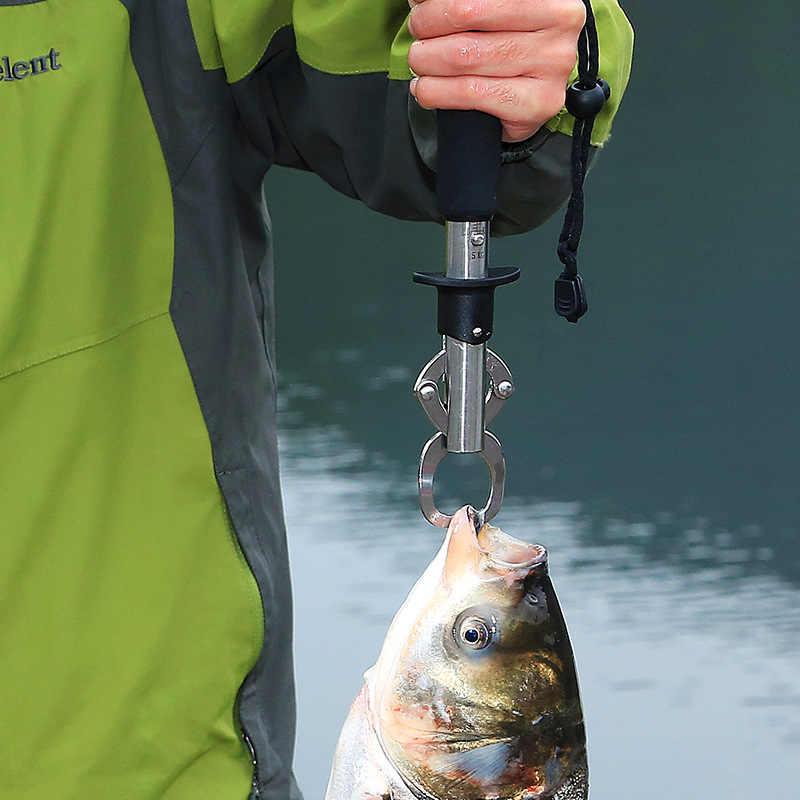 الفولاذ المقاوم للصدأ الأسماك التحكم كليب الأسماك الصيد الأسماك السيطرة الأسماك كماشة مشبك السمك قفل الأسماك معدات صيد الأسماك