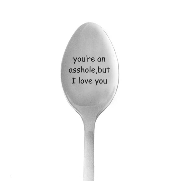 1Piece Gift for boyfriend long Spoon love gift for girlfriend present valentines day birthday present anniversary gift