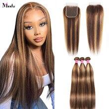 Парик Meetu 13X4 на сетке спереди, вьющиеся человеческие волосы, парик для черных женщин, 8-26 дюймов, перуанский парик на сетке спереди, предварит...